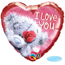 "Tatty Teddy I Love You Foil Balloon (18"") 1pc"